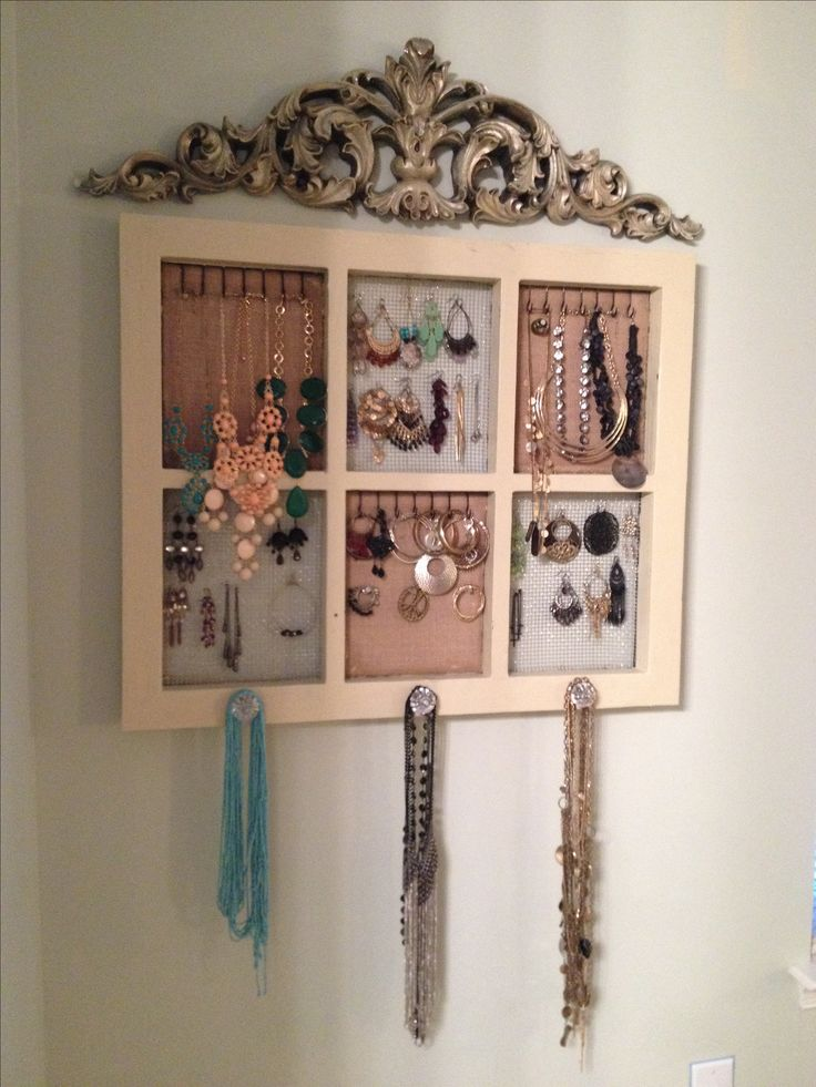 Diy Jewelry Holder Home Sweet Home Pinterest Vinyls