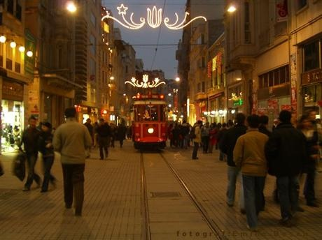 Taksim - İstiklal   Most popular street of my city..  (on the European side)