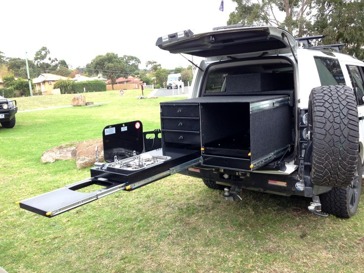 Custom made drawers, drawers, 4WD kitchen system, under tray drawers, ute drawers
