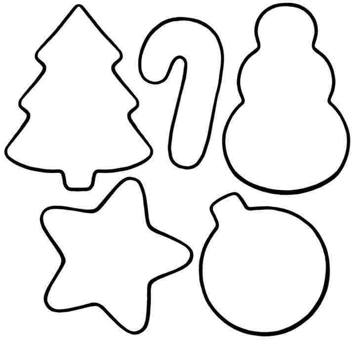 Printable Coloring Pages Of Christmas Ornaments Getcoloringpages