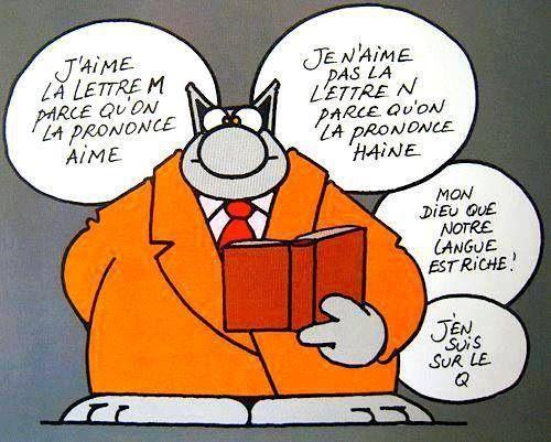 Blague de l'alphabet - le chat