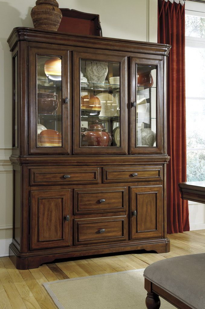 Dining Room Decor Leximore Hutch By Ashley Furniture At Kensington A China Cabinet Is Must If Youre Trying To Show Off An Elegant Look