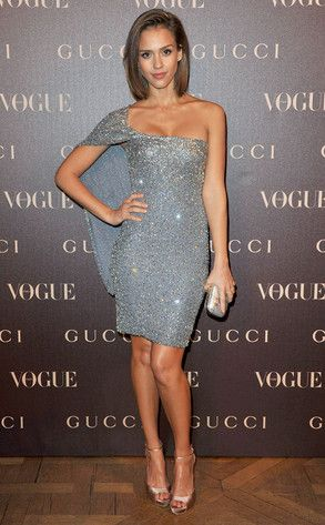 Silver Stunner: Jessica Alba's Best Looks