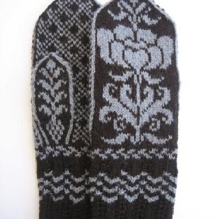 Fair Isle gloves