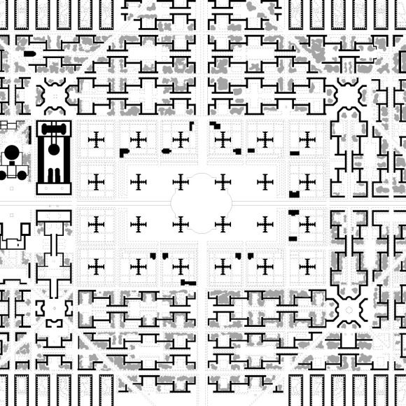 Ville contemporaine city for 3 million vision utopia for Piscine contemporaine
