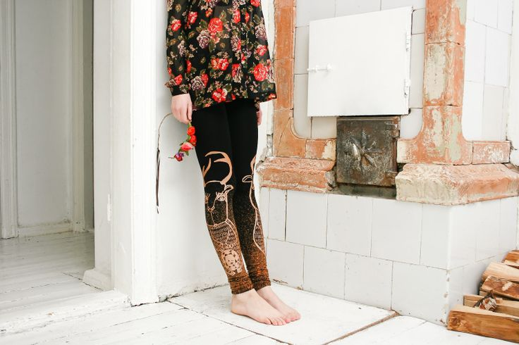 Miss+roe++leggings+by+ZIBtextile+on+Etsy,+$50.00