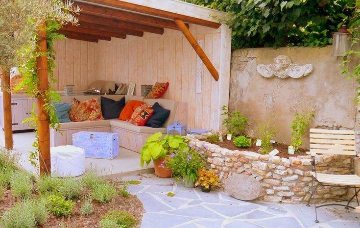 25 beste idee n over mediterrane tuin op pinterest - Ideeen buitentuin ...