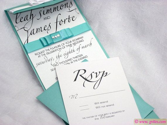 Wedding Invitations Tiffany Blue: Top 25 Ideas About Tiffany Wedding Invitations On