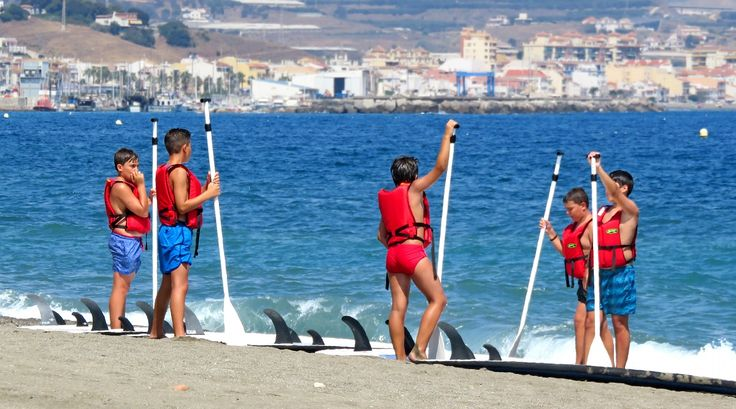 Paddling lessons in Torre del Mar