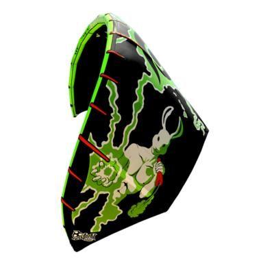 Wainman Mr Green 7.5M Rabbit Gang 2.0 2012 Kitesurfing Kite