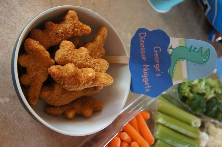 Peppa pig birthday party food