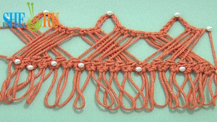 Way to Develop Hairpin Crochet Strip - Tutorial 30 How to Crochet Hairpin Braid by Sheruknittingcom