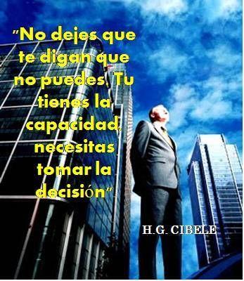 """GRATIS. PELICULAS , DOCUMENTALES Y CONFERENCIAS DE AUTOAYUDA, SUPERACION PERSONAL Y ESPIRITUALIDAD. SIN DESCARGAR. DISFRUTALAS AQUI: http://hgcibele.blogspot.com  """" No dejes que te digan que no puedes. Tu tienes la capacidad, necesitas tomar la decisión"""" . H. G. CIBELE"""