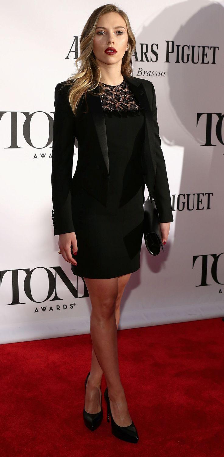 scarlett johansson skirt fashion style 2013