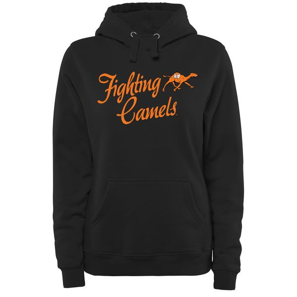 Campbell Fighting Camels Women's Plus Sizes Dora Pullover Hoodie - Black - $49.99
