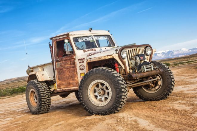 1949 Jeep Willys Pickup Rock Crawler Jp Magazine's Wicked Willys