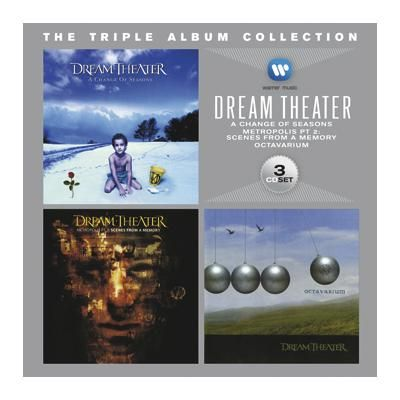 "Cofanetto ""The triple album collection"" dei #DreamTheater contenente ben 3 album."