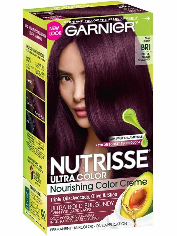 Permanent Semi Permanent Temporary Burgundy Hair Color