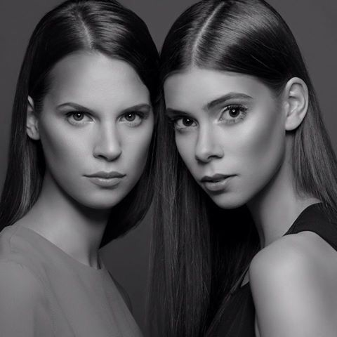 Photo:Balazs Toth MakeUp and Hair: Gabriella Halasi-Szabo Styling: Zsuzsa Peleskey Models: Kata&Kristina @ Avantage Models
