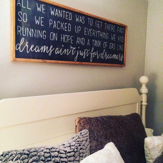 Chris Stapleton Lyrics by JenuinelyMadeDesigns on Etsy