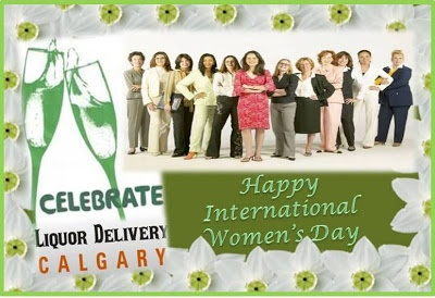 Organize a special party for all your female friends on this years' #women's_day with the #liquor_delivery_services in Calgary