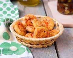 Cookies salés au chorizo et aux tomates séchées