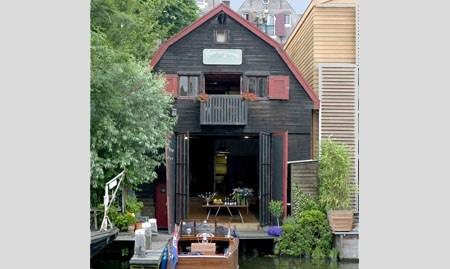Inspirerende vergaderlocatie De Kleine Werf in Amsterdam.
