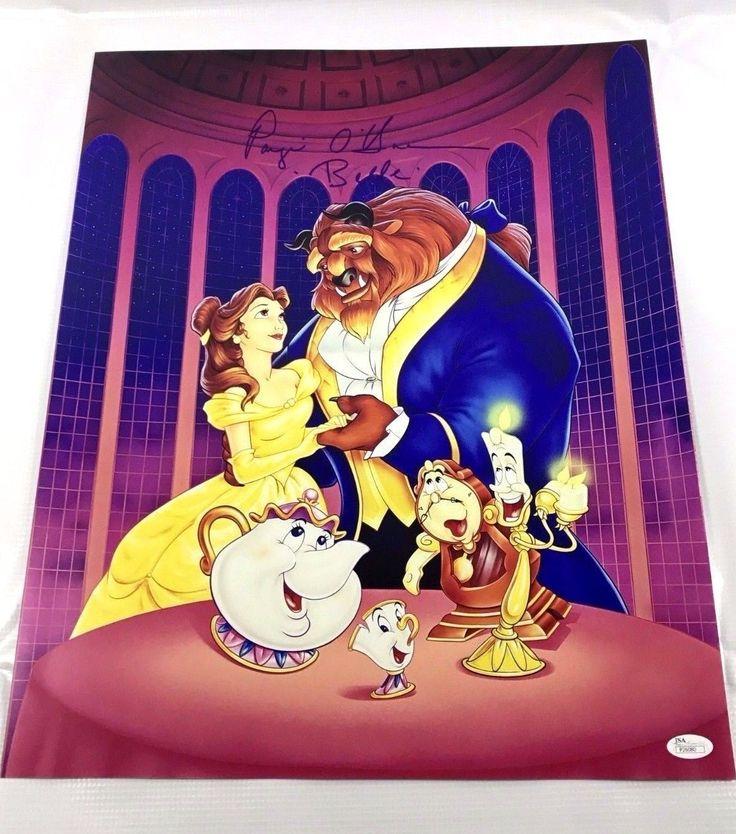 Paige O'hara Belle Signed Autograph 16x20 Disney JSA COA Beauty and the Beast Z