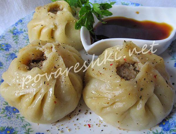 По мотивам бурятских мантов (позы или буузы) - кулинарные рецепты Поваренка с поварешкой