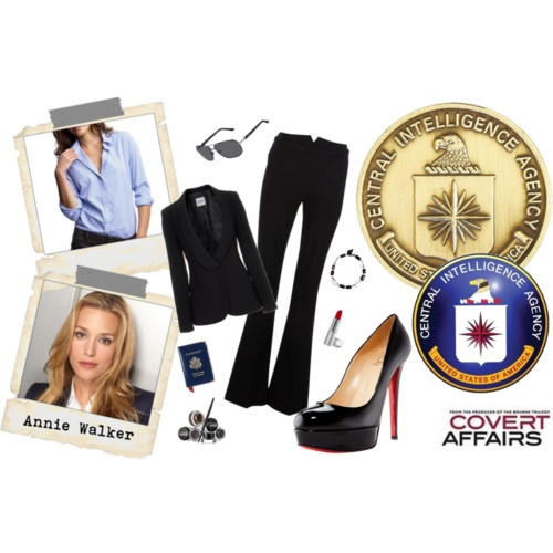 Piper Perabo's style as Annie Walker from Covert Affairs