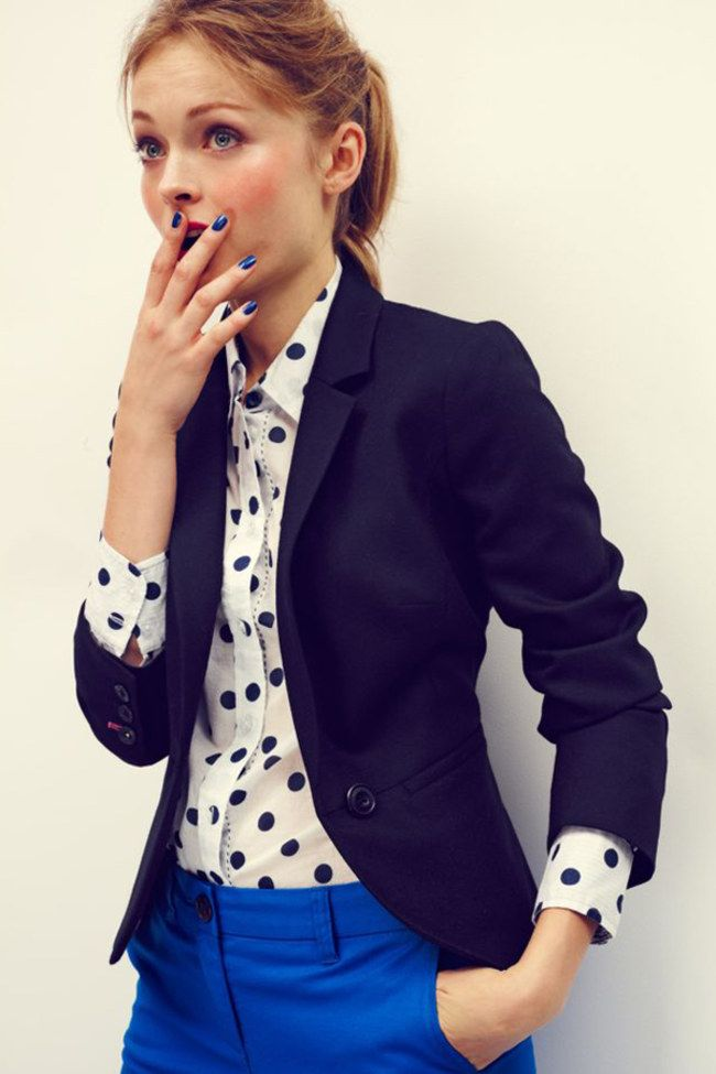 10 Style Staples Every Woman Should Have In Their Wardrobe: Dressy Blazer. For more ideas, click the picture or visit www.sofeminine.co.uk