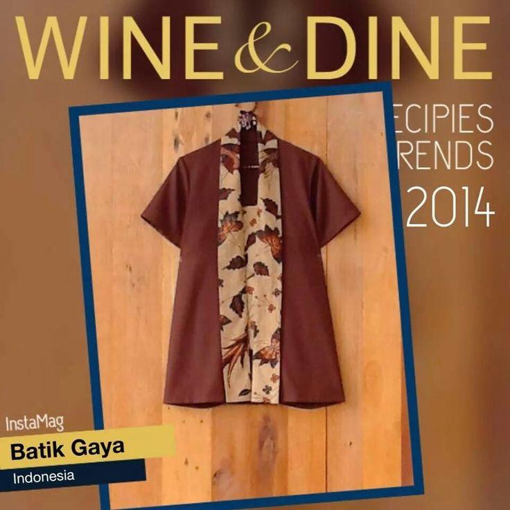 batik blouse work