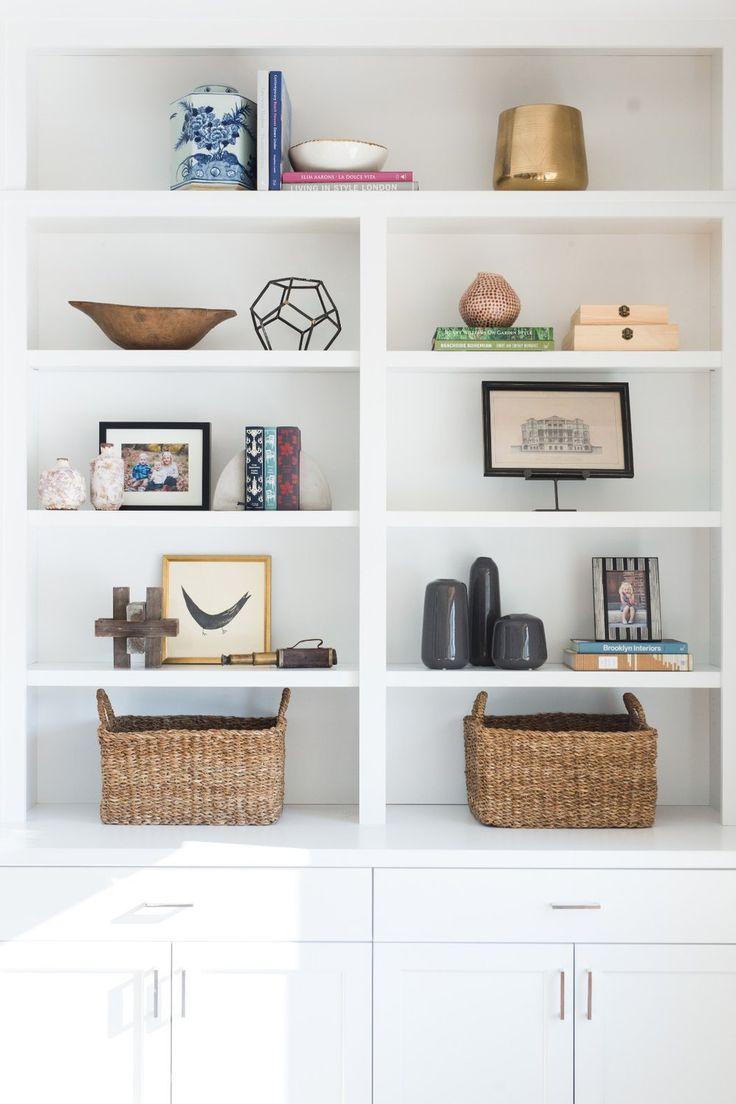 81 best Decorating Book Shelves images on Pinterest | Decorating ...