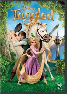 Tangled [DVD]. When the kingdom's most wanted bandit Flynn Rider hides in a mysterious tower, the last thing he expects to find is Rapunzel, a spirited teen with an unlikely superpower, 70 feet of magical golden hair! Together, the unlikely duo sets off on a fantastic journey filled with surprising heroes, laughter, and suspense.
