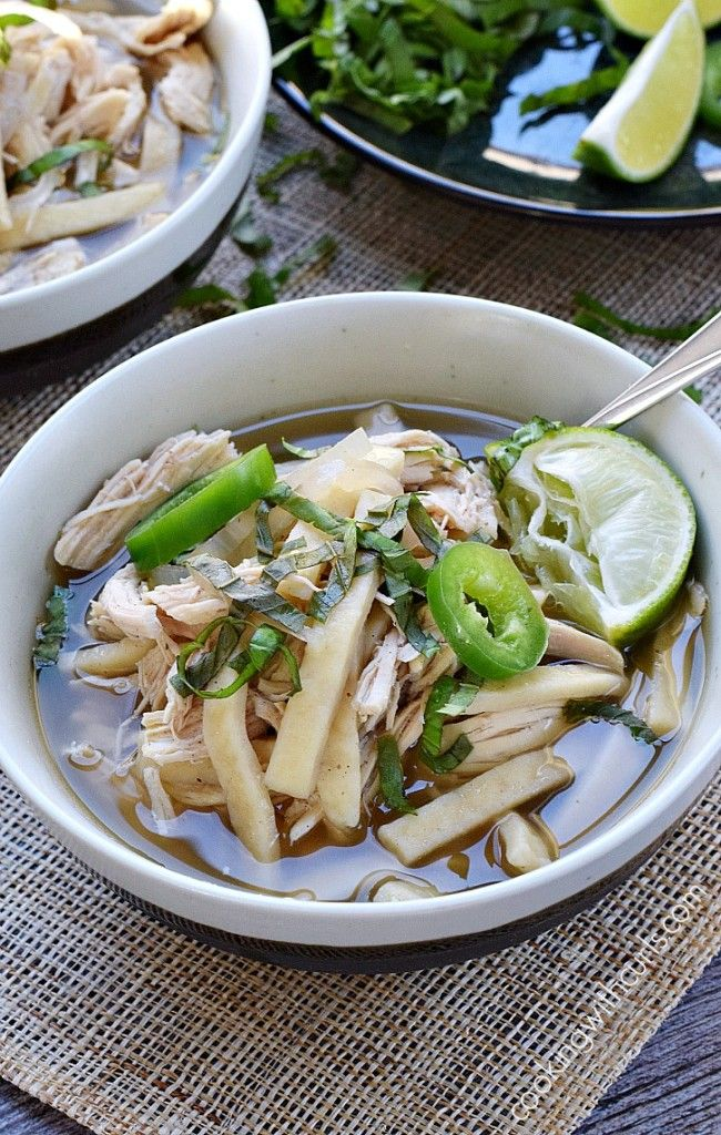 Homestyle egg noodles, Chinese Five Spice, jalapeno, and ginger make this Chinese Chicken Noodle Soup the perfect way to warm up on a cold day. #ad