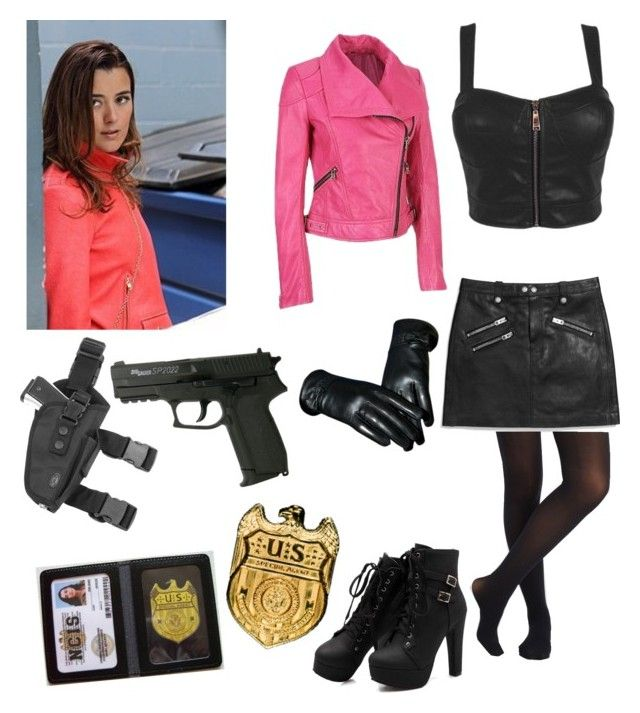 """NCIS/Ziva undercover"" by lps1880 ❤ liked on Polyvore featuring Coach and Kawasaki"
