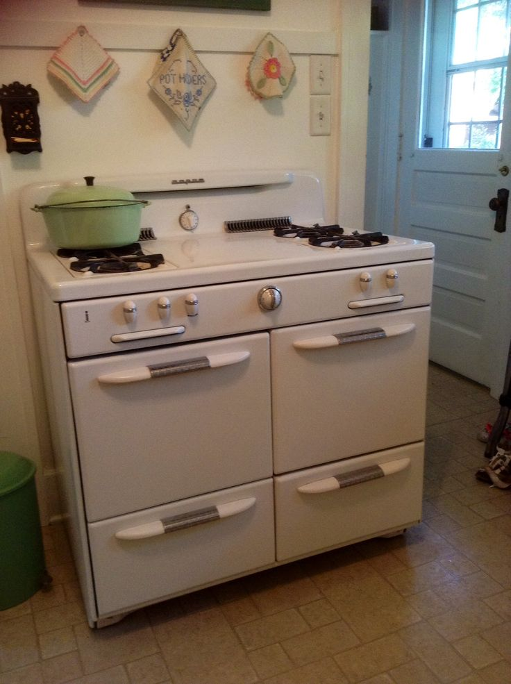 Stoves Kitchen Appliances ~ Best images about vintage kitchen appliances on
