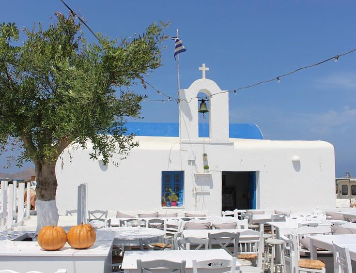 island of Paros (Πάρος) White and Blue style Happy Easter !