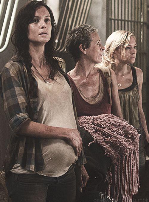 The Walking Dead...Lori Grimes, Carol Peletier, Beth Greene