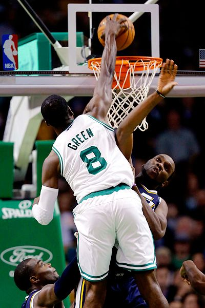 Jeff Green Baptised Al Jefferson
