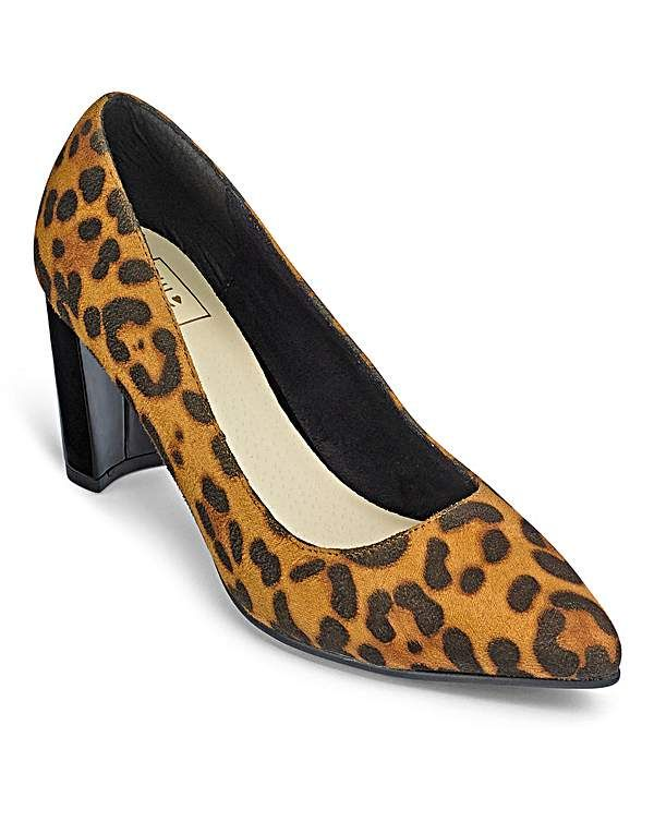 Sole Diva Court Shoes EEE Fit