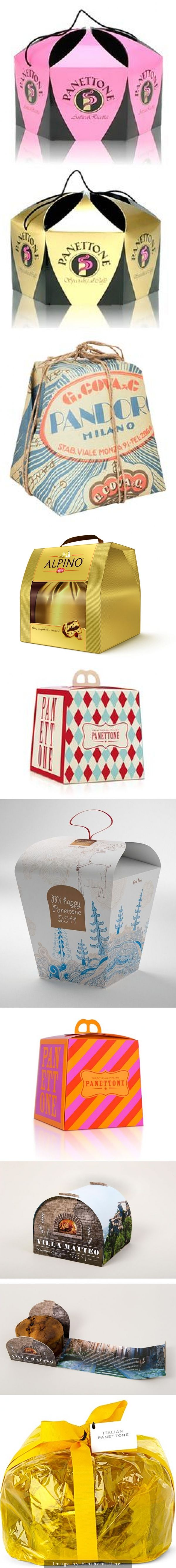 Get inspired by Panettone #packaging for the holidays curated by Packaging Diva PD created via http://pinterest.com/packagingdiva