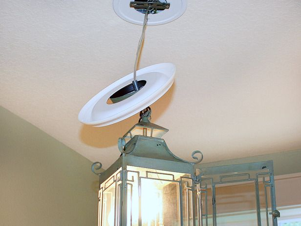 Convert a Recessed Light Into a Pendant Fixture : Page 03 : Rooms : Home & Garden Television