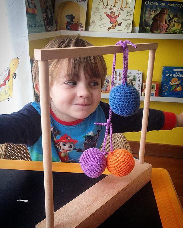 A boy created scale with #spielgaben #mathplay  https://spielgaben.com