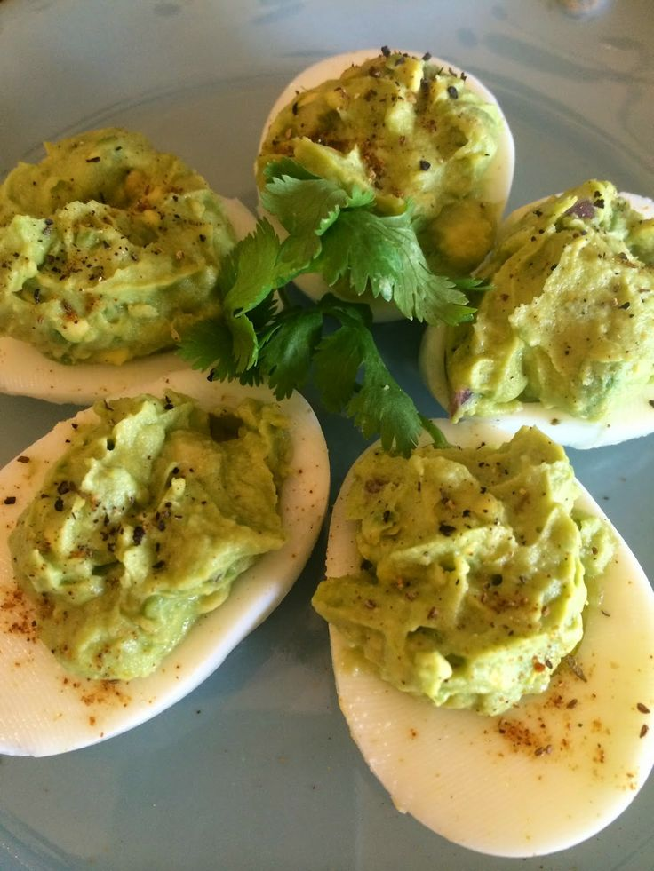 Deviled Eggs, Old Bay, Avocado, Clean Eating, Heathy Snacks, Picnic Foods, Finger Foods, Healthy