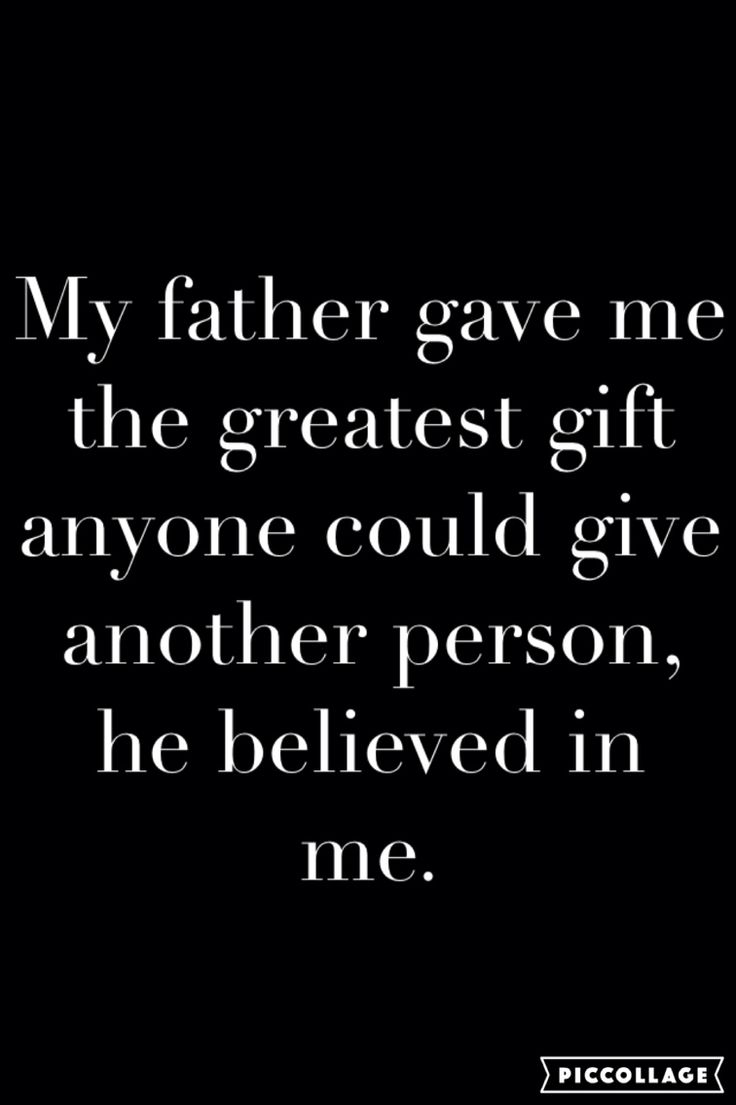 My father gave me the greatest gift anyone could give anther person. He believe in me.  Een hele andere manier van liefde. De liefde tussen vader en dochter. Een liefde die bestaat sinds jij werd geboren. Hoe is of was jou band met je vader?