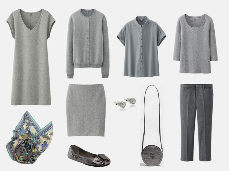 10 piece capsule wardrobe for stress dressing- have ten items - 6 garments + 4 accessories - specifically assigned (in my mind, at least) for these days when everything feels like it's falling apart. The garments in question are an excellent base for both a travel wardrobe or a new simpler closet.... A very simple monochromatic outfit, flat shoes, and no more accessories than maybe earrings or a scarf.