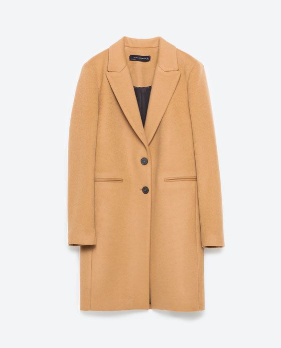 Image 8 of MASCULINE COAT from Zara