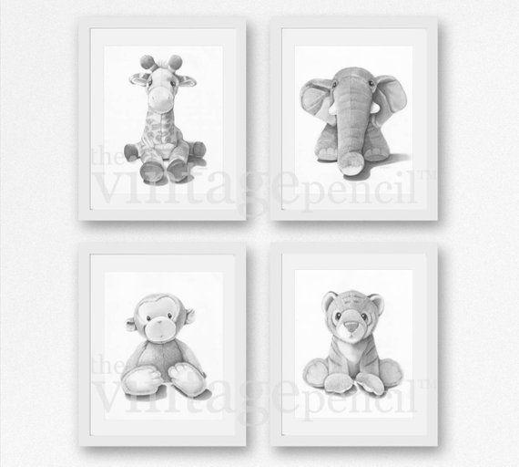 Animal Nursery Art Print