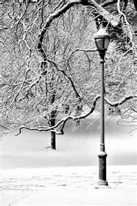 Old streetlamps - I blame Narnia for this